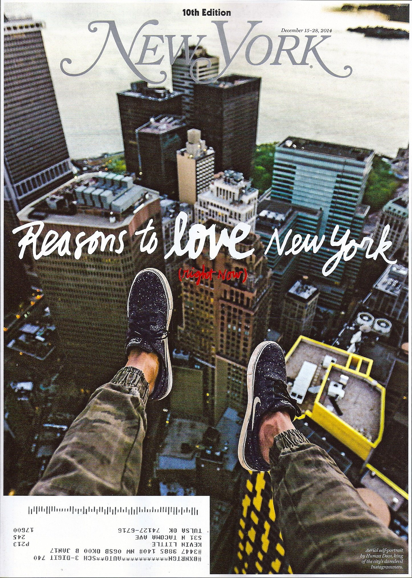 Reasons to Love New York (Right Now) * 10th Edition * December 15-28, 2014 New York Magazine [225 Pages!] pdf