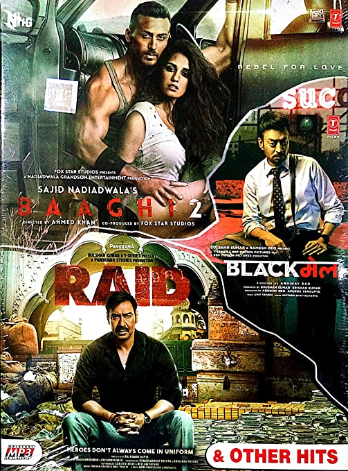 Buy Baaghi 2 Raid Blackmail Other Hits Online At Low Prices In