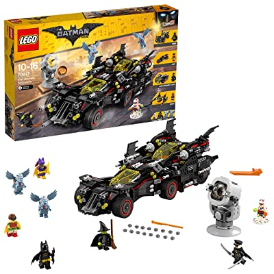 The Ultimate Batmobile The Lego Batman Movie 70917: Toys & Games