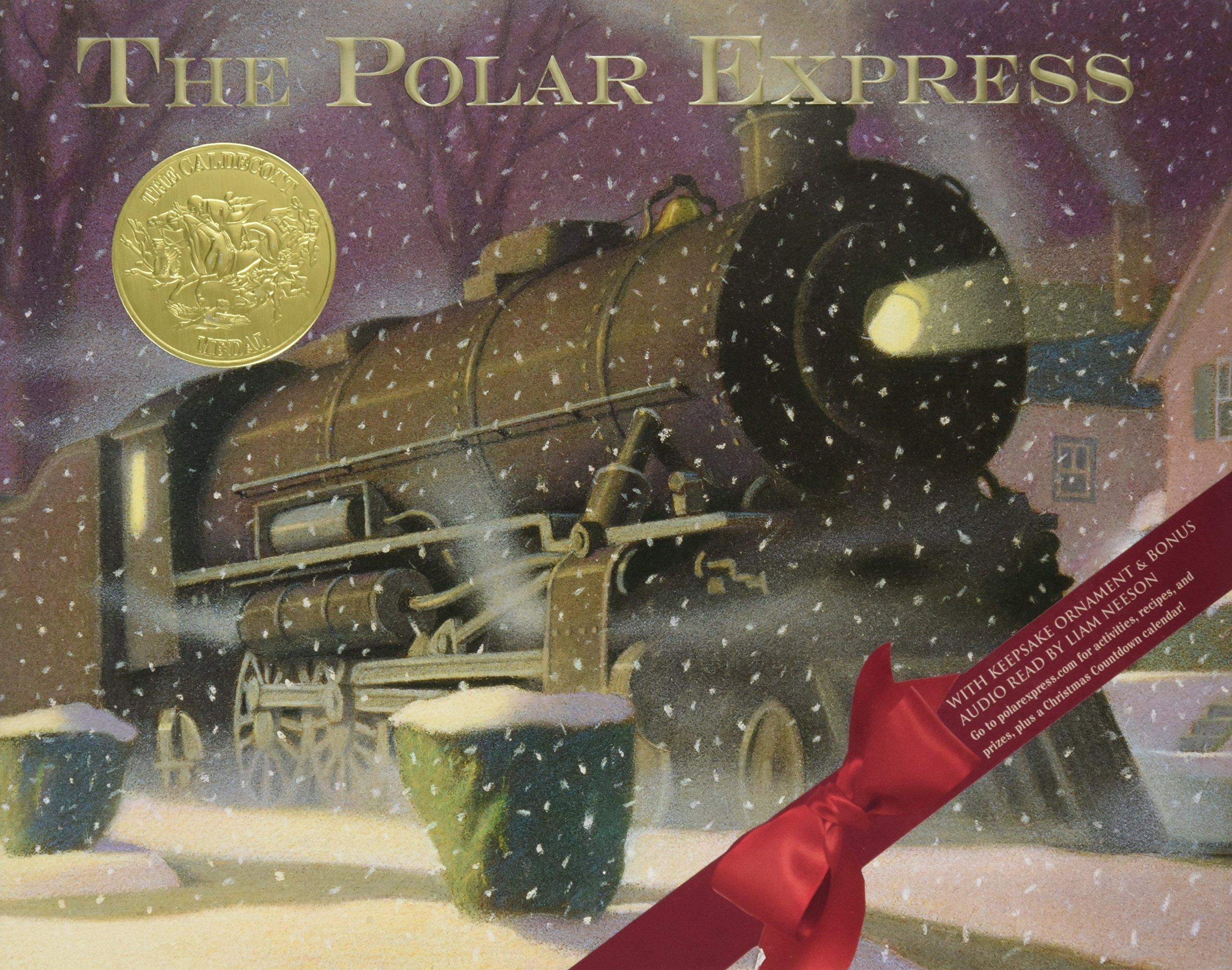 Polar Express 30th anniversary edition: Van Allsburg, Chris: 9780544580145: Amazon.com: Books