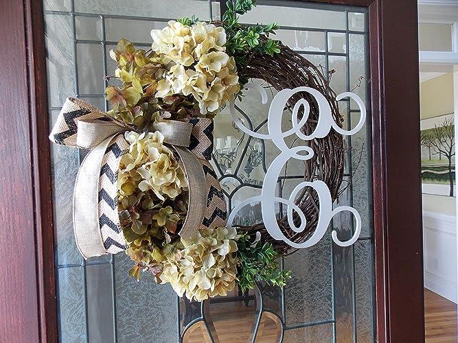 Fall Wreath Fall Wreaths For Front Door Autumn Wreath Thanksgiving Wreath  Hydrangea