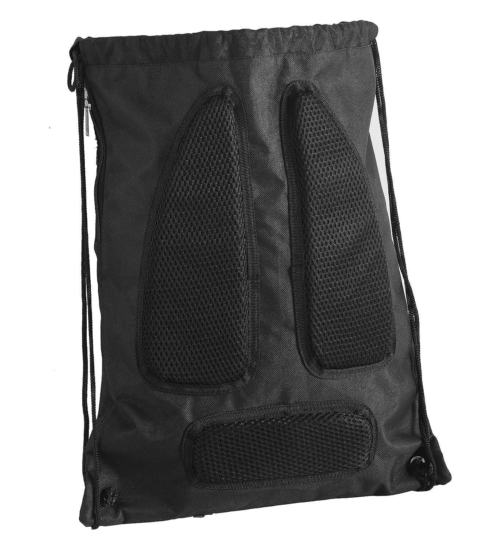 Golden State Warriors Official NBA High End Diagonal Zipper Drawstring Backpack Gym Bag Stephen Curry #30