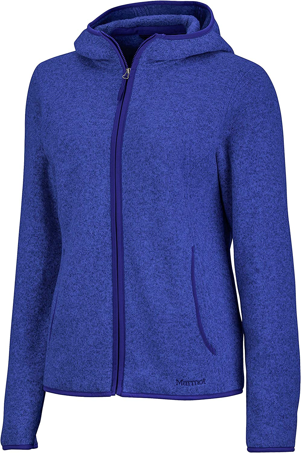 Marmot Womens Norhiem Sweater Knit Fleece Jacket