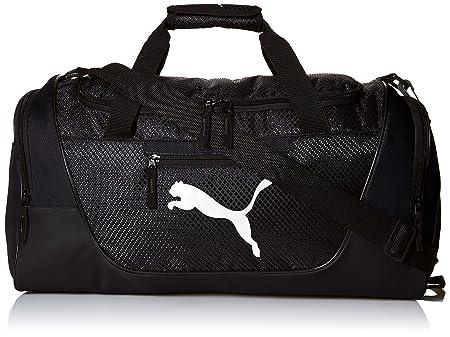 front facing puma mens contender duffel bag