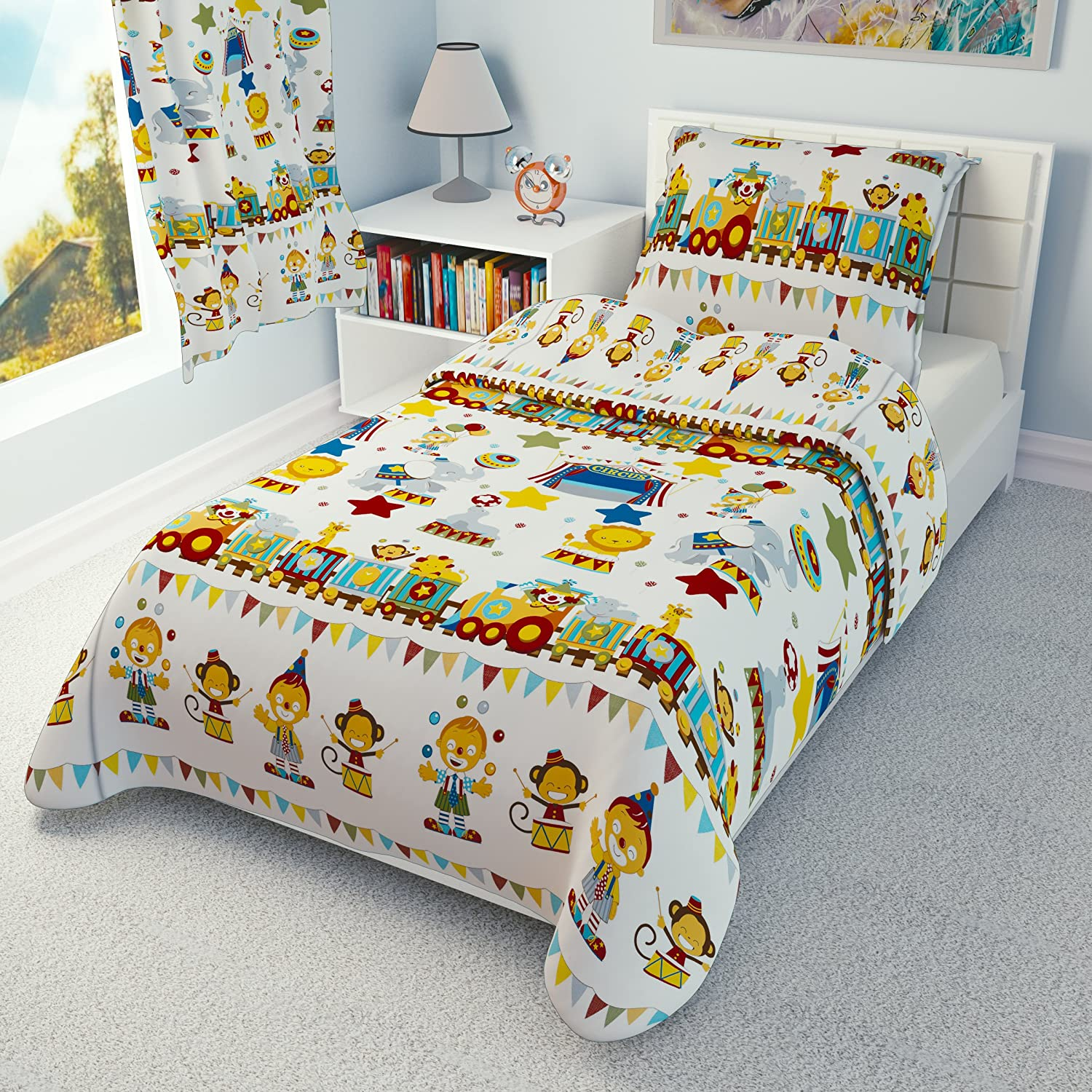 Babies Island IKEA Cot Bedding Duvet Cover Pillowcase 110 x 125 cm - many designs available (Red Sailor) Babies-Island