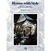 Hymns with Style: For Intermediate Piano book cover