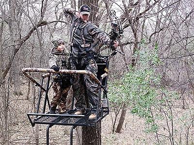 X-Stand Treestands The Jayhawk Ladder stand