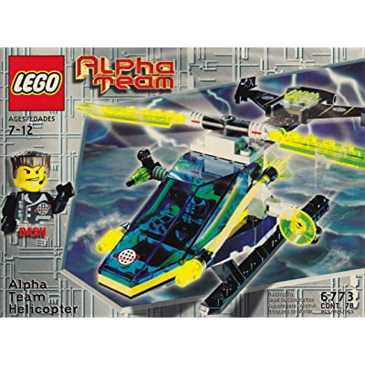 LEGO 6773 Alpha Team Helicopter: Toys & Games