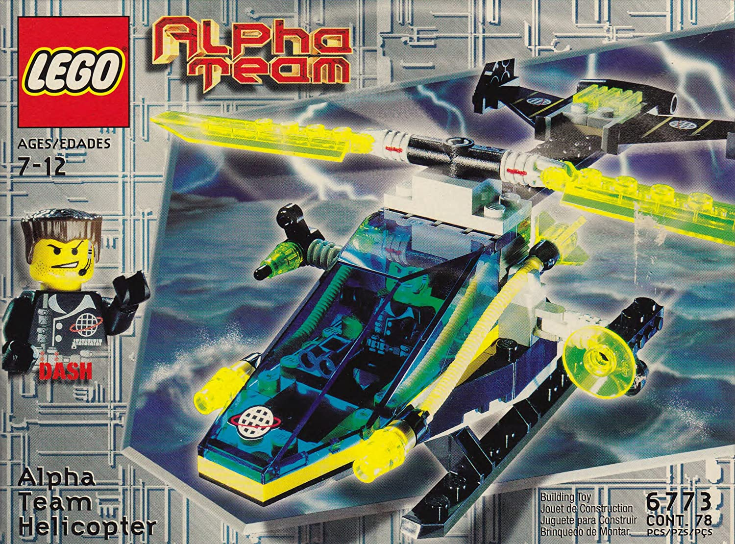 LEGO 6773 Alpha Team Helicopter