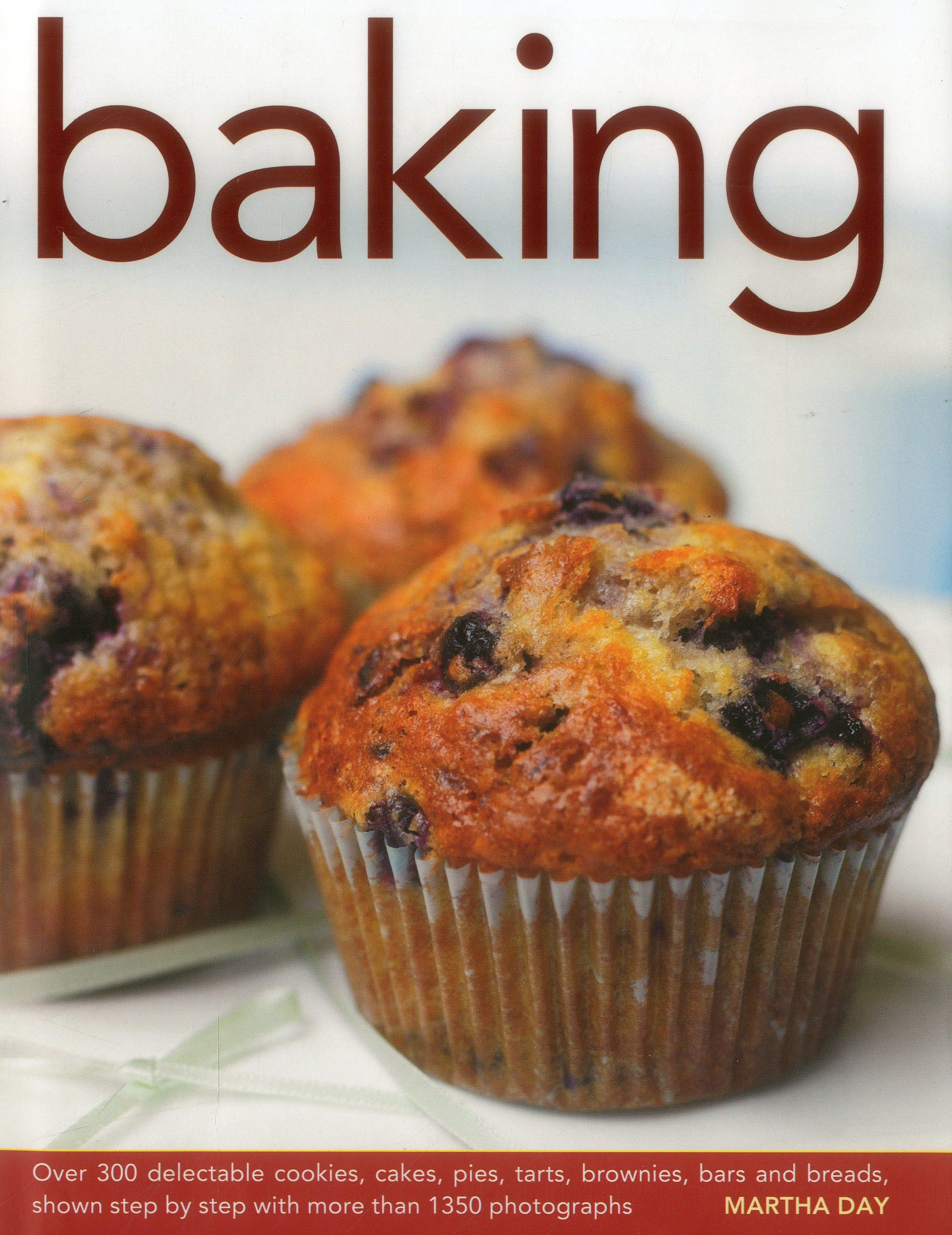 Baking: Over 300 delectable cookies, cakes, pies, tarts, brownies, bars and breads, shown step by step with more than 1350 photographs PDF