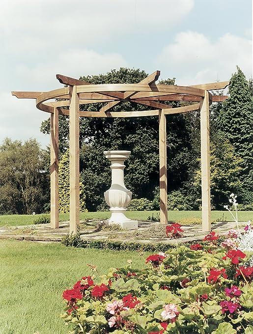 La pérgola Bramblecombe - A - postes de cacheo granja dekowunder ...