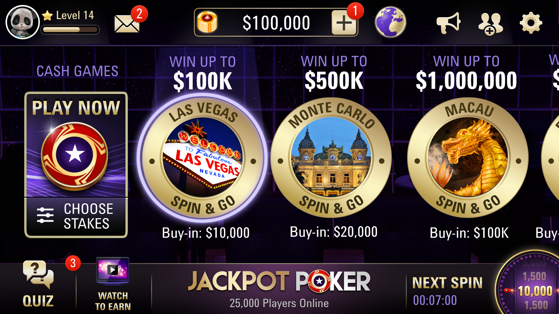 Bet online poker
