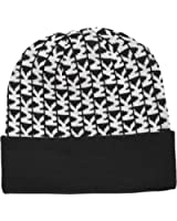 Michael Kors Womens Hat MK Beanie Cap One size Black