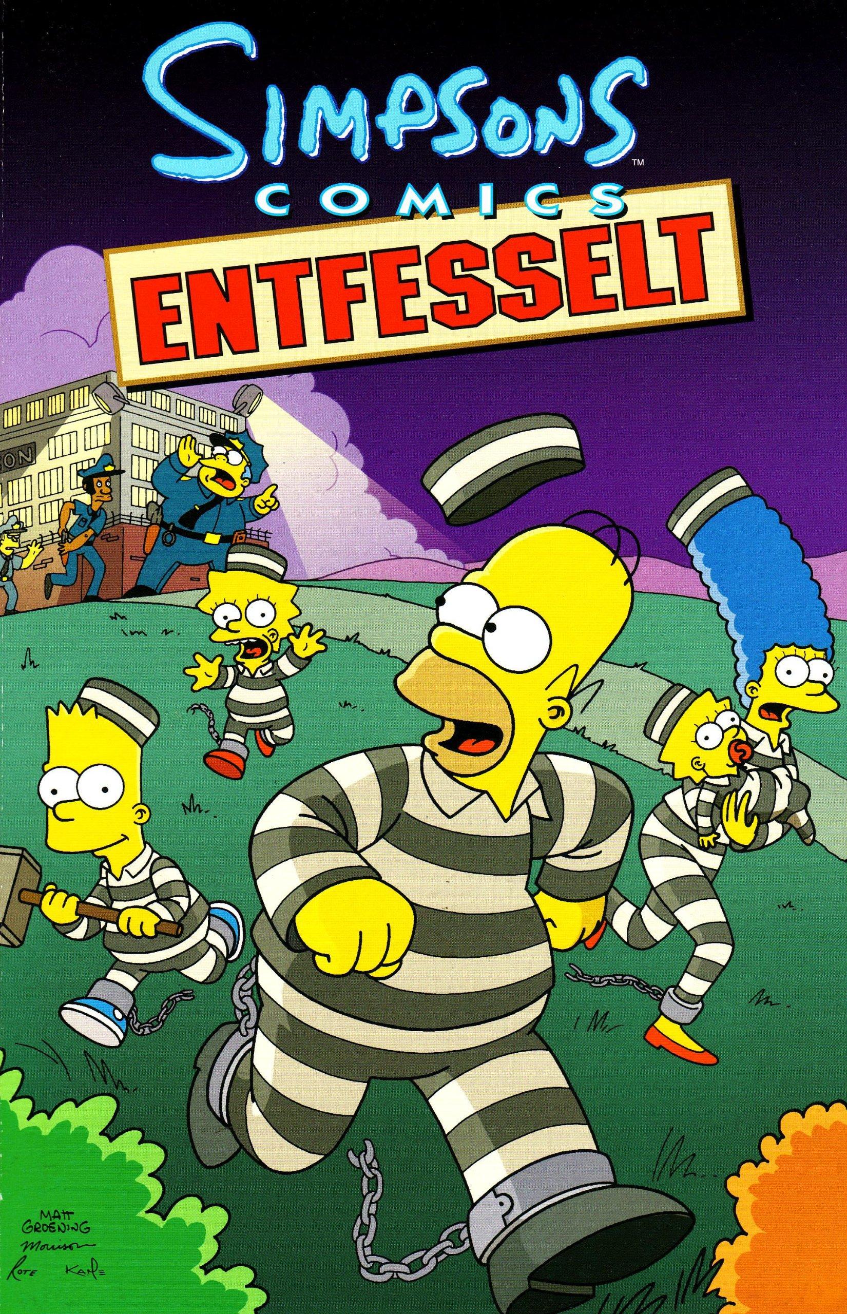 Simpsons Comics Sonderband 10. Entfesselt Broschiert – 21. November 2009 Matt Groening Bill Morrison Panini 3866077297