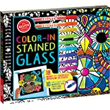 Color-In Stained Glass: 18 Make-it-yourself Window Designs