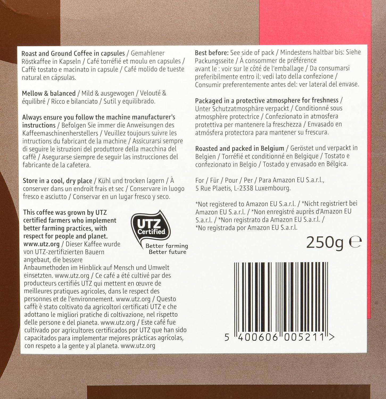 Marca Amazon - Solimo Cápsulas Espresso, compatibles con Nespresso ...