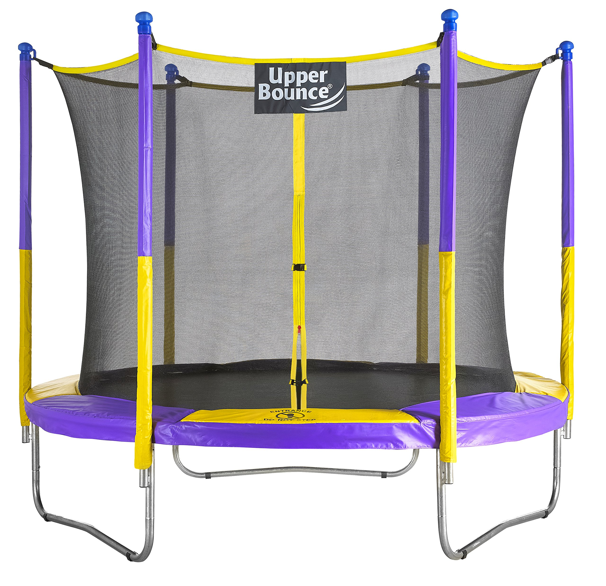 Upper Bounce UB03EC-09E 9'. Trampoline & Enclosure Set Equipped with The New Easy Assemble Feature
