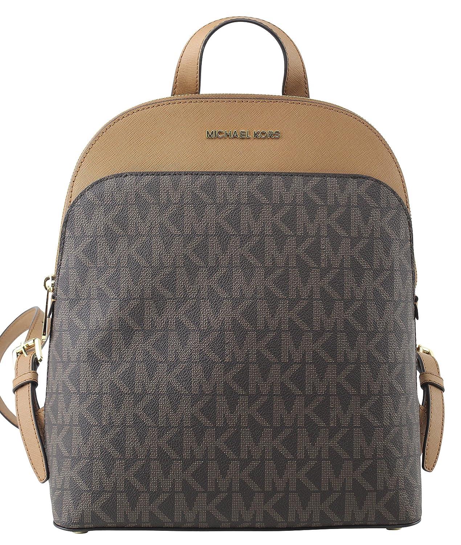 bcb2edeab3ca ... where to buy amazon michael michael kors womens emmy leather backpack  brown acorn clothing 4fe82 b176f