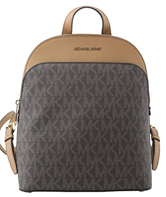 9d056990412c Amazon.com: MICHAEL Michael Kors Women's EMMY Leather Backpack ...