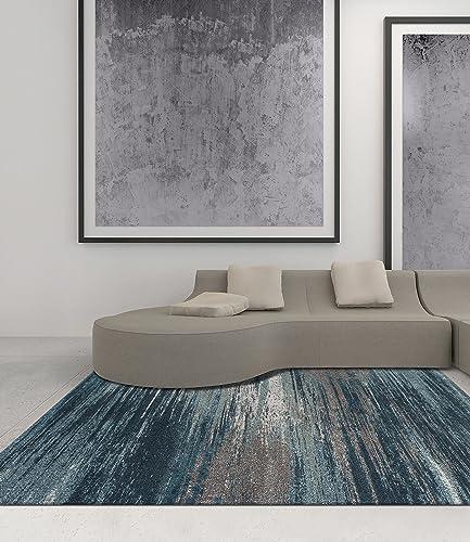 Dalyn Rugs Modern Greys Rug, 3 3 x 5 3 , Teal
