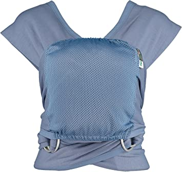 Caboo Lite- Multi Position Baby Carrier (Faded Denim)  Amazon.co.uk  Baby 0c8a20c5e6a