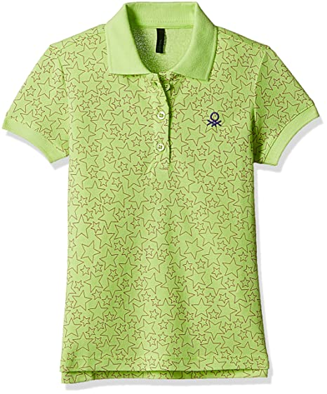 65862d95 United Colors of Benetton Baby Girls' T-Shirt (17P3BHXC3036G_Green_0Y)