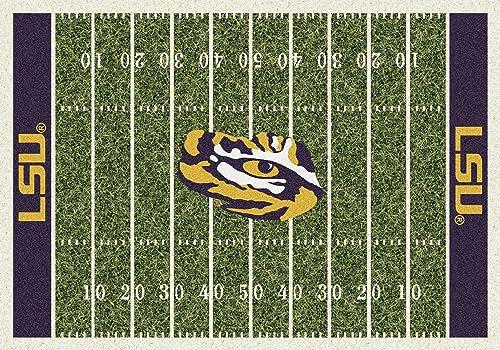 NCAA Home Field Rug – Louisiana State LSU Tigers, 3 10 x 5 4