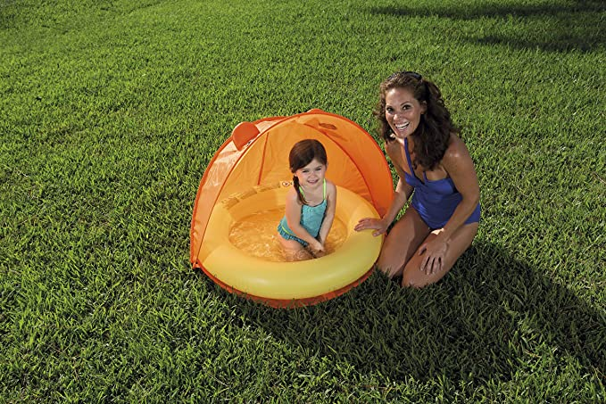 Amazon.com: h2ogo. Piscina hinchable W/Twist N plegable ...