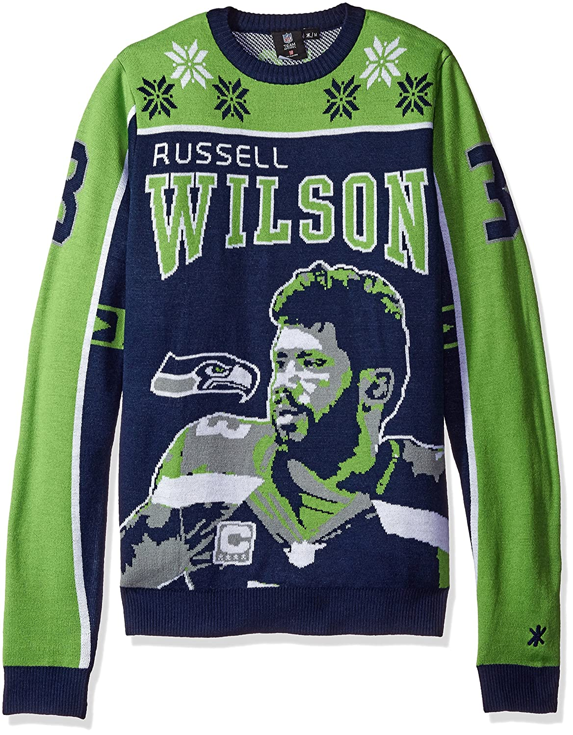 Amazon.com : NFL Football 2015 Player Holiday Ugly Sweater : Sports ...