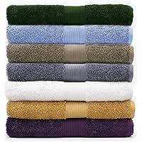 Canningvale Egyptian Royale 100% Egyptian Cotton 650 GSM Bath Sheet Carbone Grey Bath Essentials