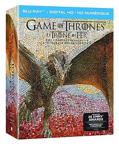 [Amazon Canada]Game of Thrones Bluray seasons 1-6 $120