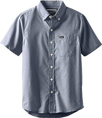 RVCA Niños B3504TDS Camisa de Botones: Amazon.es: Ropa y accesorios