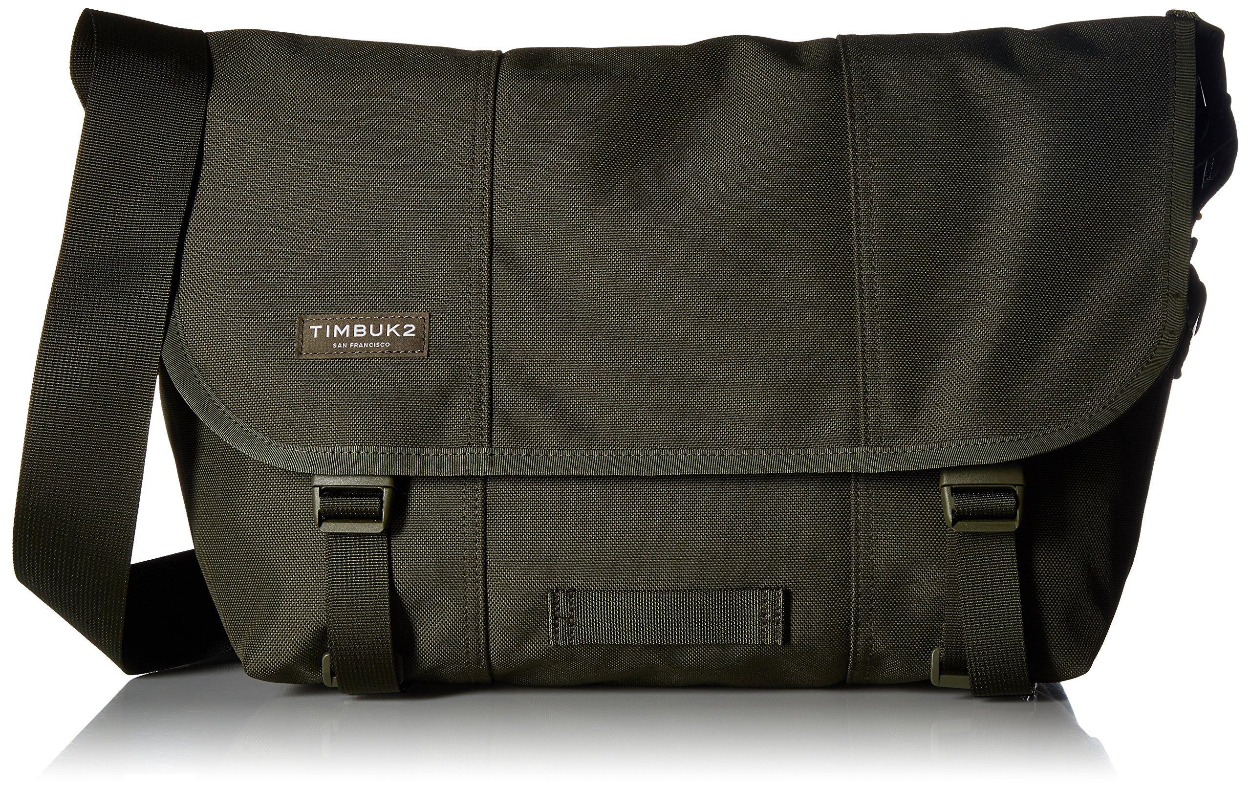 Timbuk2 Classic Messenger Unicolor Bag, Army, Medium