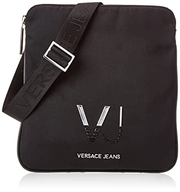 2783baed95d8 Versace Jeans Men s Logo Vj Shoulder Bag Black Nero (Nero)  Amazon.co.uk   Shoes   Bags
