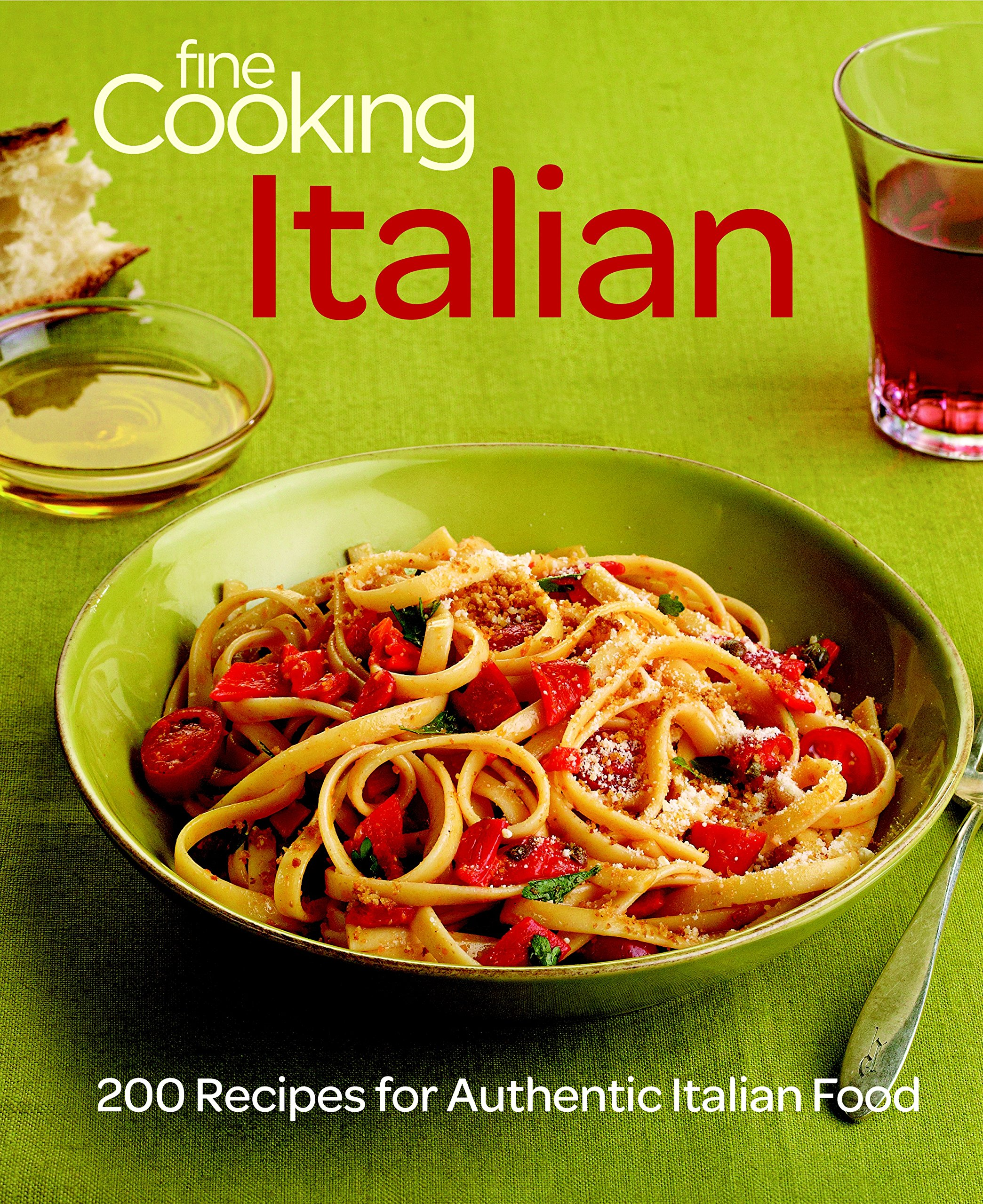 Fine cooking italian 200 recipes for authentic italian food fine cooking italian 200 recipes for authentic italian food editors of fine cooking 9781600854309 amazon books forumfinder Images