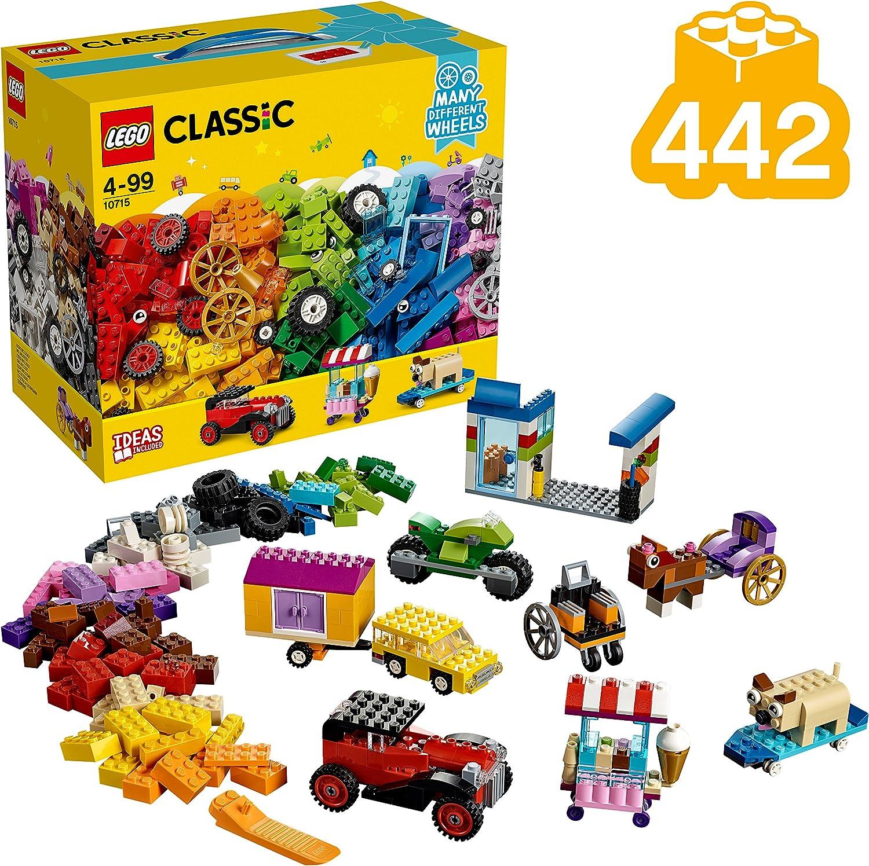 LEGO Muchas Ruedas Diferentes, Ladrillos Sobre Ruedas, Juguete de Construcción Educativo y Divertido para Niñas y Niños: Amazon.es: Juguetes y juegos