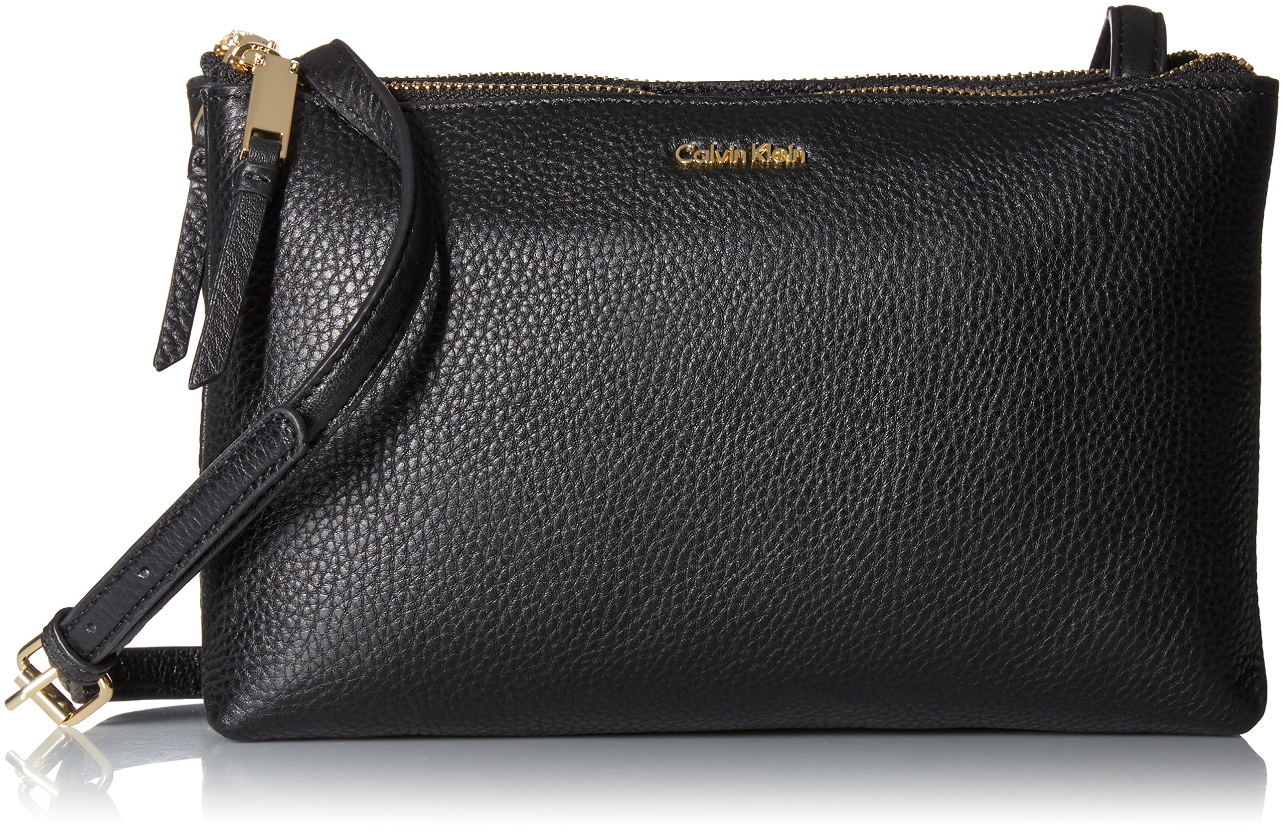 Calvin Klein Freda Top Zip Pebble Crossbody