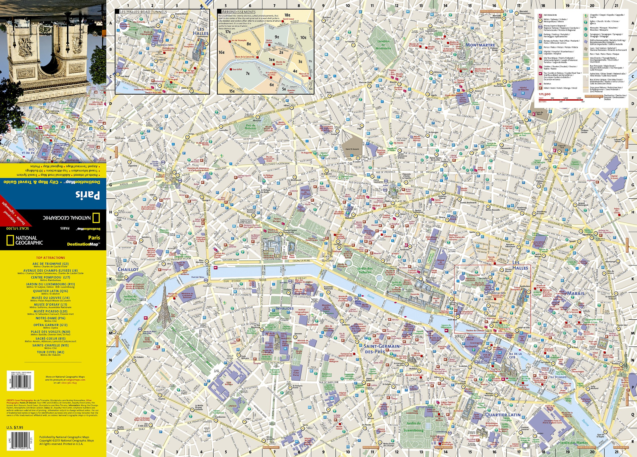Paris (National Geographic Destination City Map): National ...