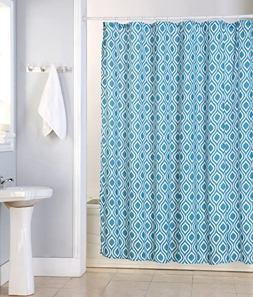 Perfect Kashi Home Tina Polyester Canvas Shower Curtain