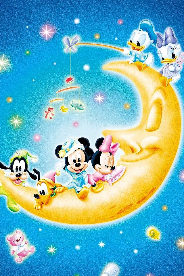 ディズニー お月さまとあそぼ! iPhone(640×960)壁紙 画像64070 スマポ