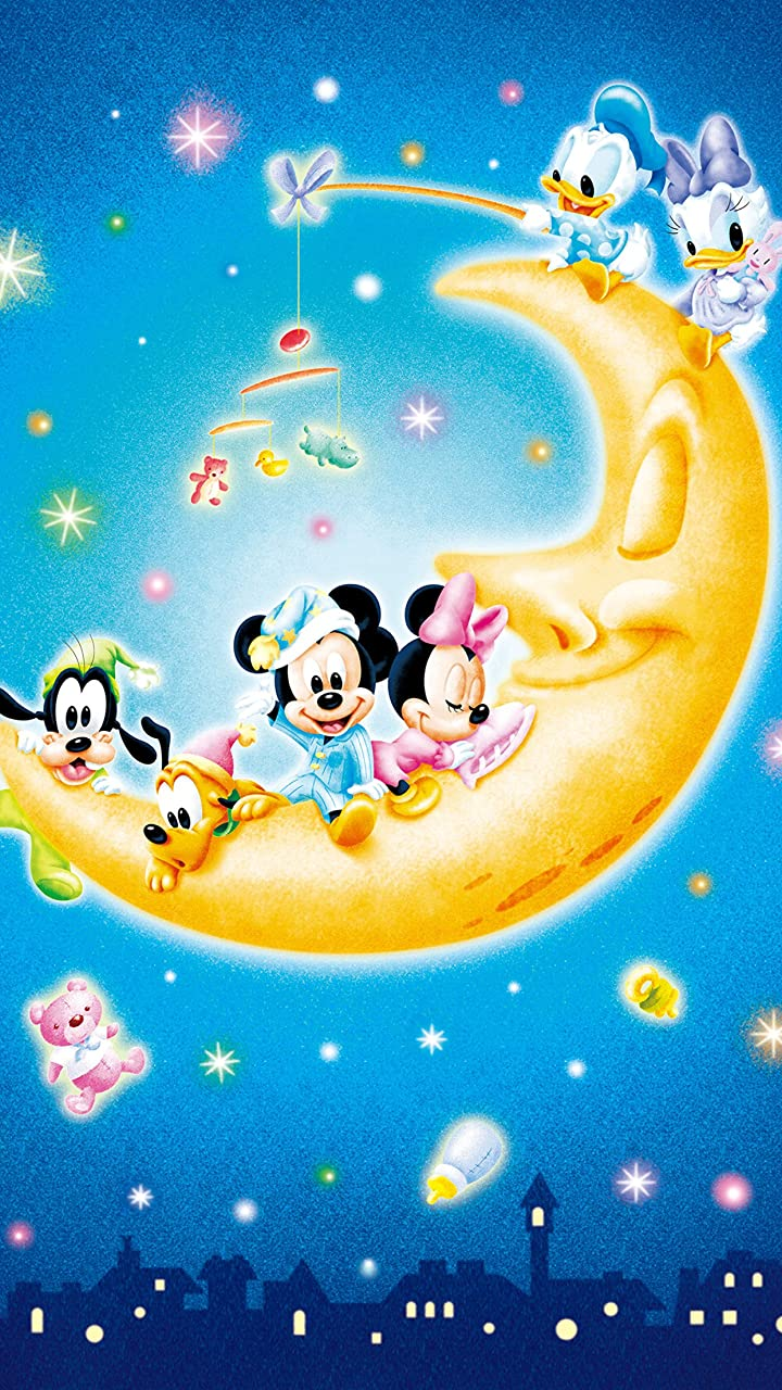 ディズニー お月さまとあそぼ! HD(720×1280)壁紙 画像65411 スマポ