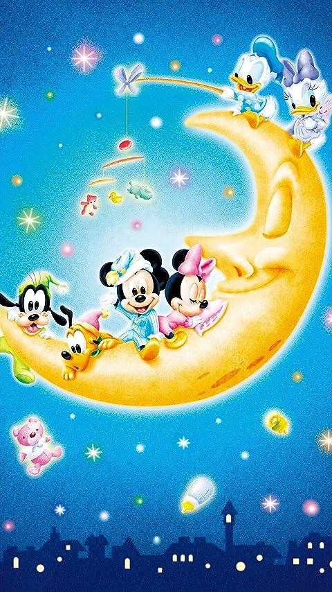 ディズニー お月さまとあそぼ! XFVGA(480×854)壁紙 画像67888 スマポ