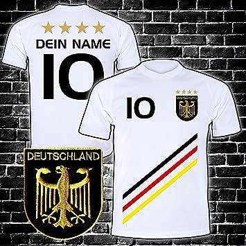 Elevensports Deutschland Trikot Mit Gratis Wunschname Nummer