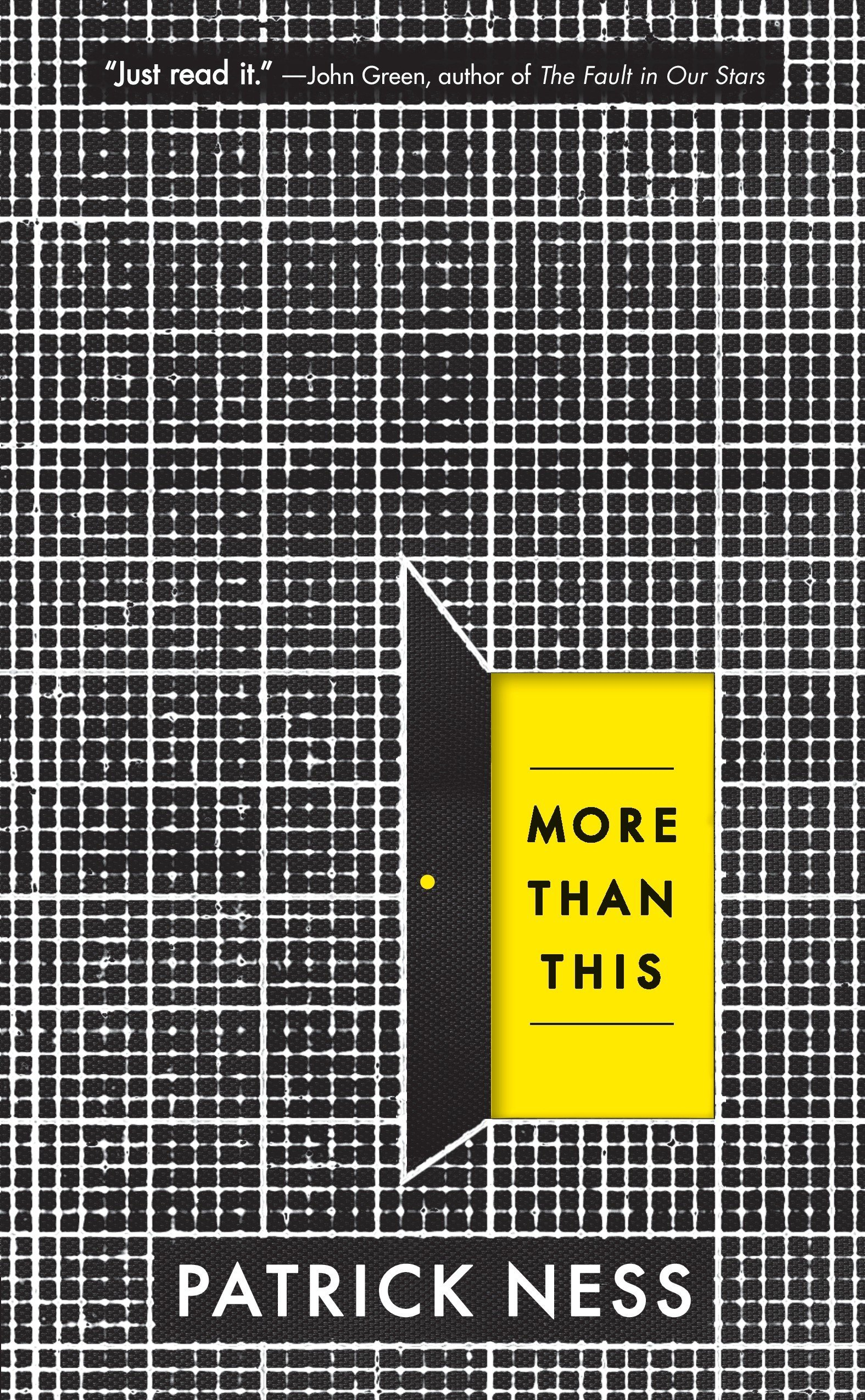 Image result for more than this by patrick ness