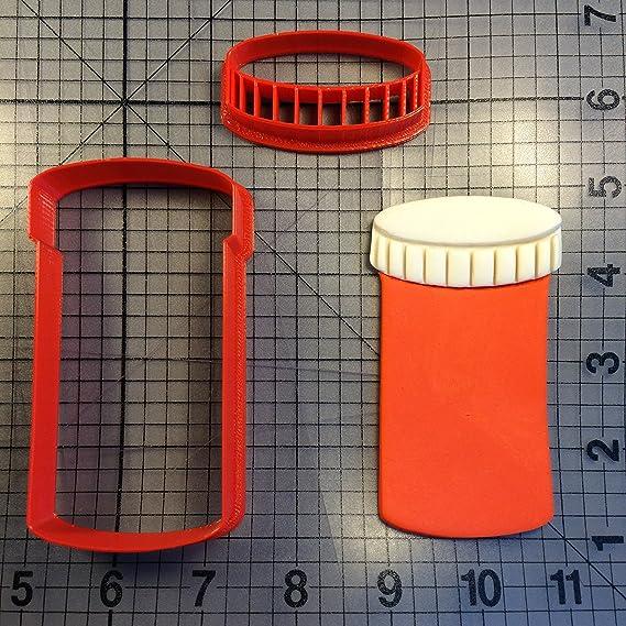 Pill Bottle 101 Cookie Cutter Set