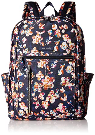 b712cc99afcc Amazon.com  Vera Bradley Lighten Up Grand Backpack