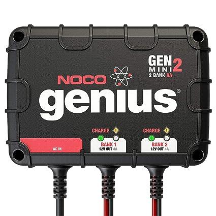 Noco Genius Gen1 10 Amp 1-bank impermeable inteligente a ...