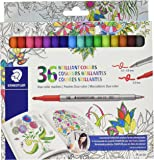 Staedtler Duo color Markers (320C36JBLU) 36 pc.