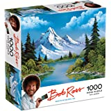 Bob Ross Mountain Reflections - 1000 Piece Jigsaw Puzzle