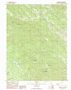 YellowMaps Eureka Hill CA topo map, 1:24000 Scale, 7.5 X 7.5 Minute, Historical, 1991, Updated 1991, 26.7 x 21.4 in